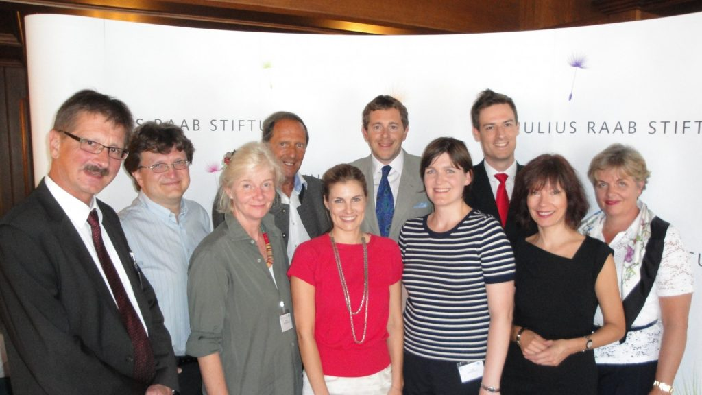 Gruppenbild Citizenship Education und Ökonomische Bildung – Internationaler Workshop (2012)